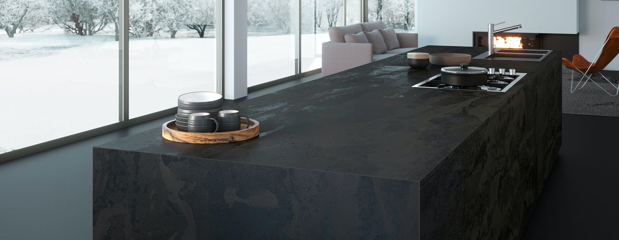 Radium Dekton Industrial Collection