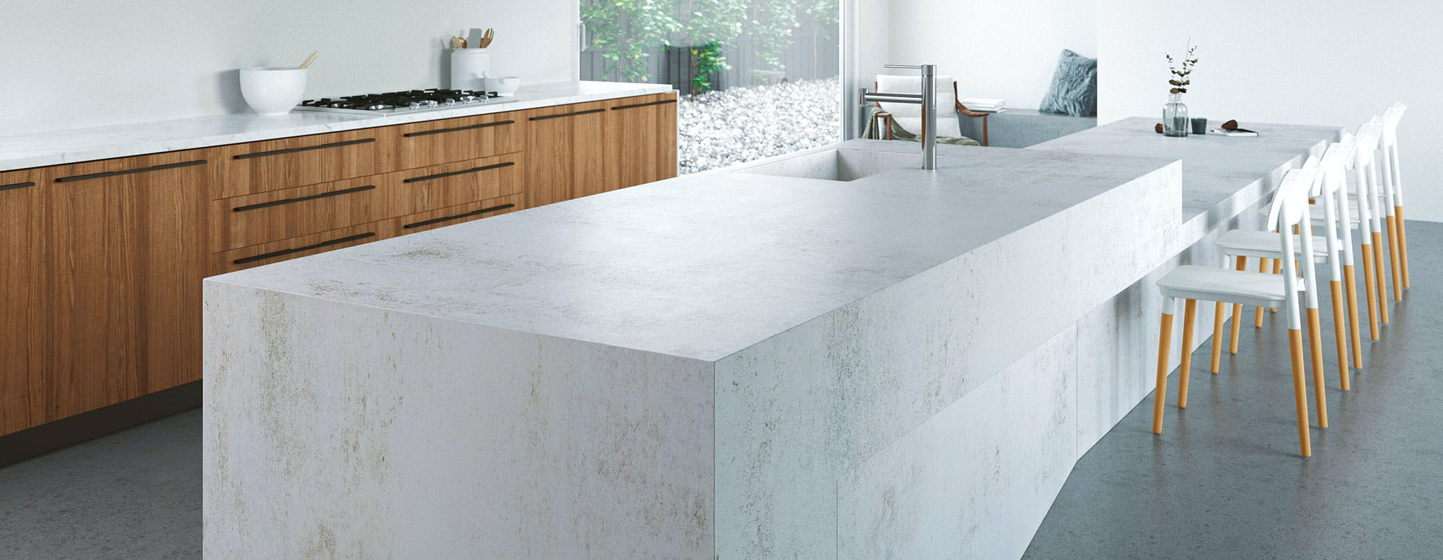 concrete kitchen countertops with New Colors on How To Install Tiles On A Kitchen Countertop besides New Colors besides Cargo Trailer C er Conversion also Showcase likewise Interior Family Friendly Home.