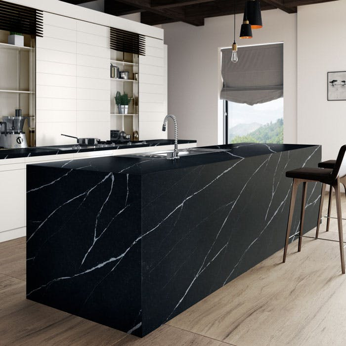 silestone le leader des surfaces en quartz pour cuisines et salles de bain. Black Bedroom Furniture Sets. Home Design Ideas