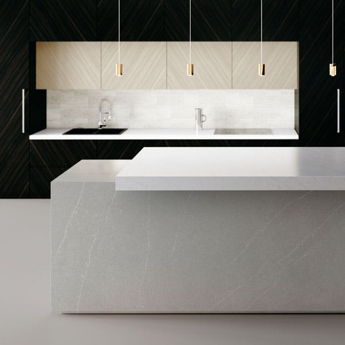 Silestone the leader in quartz surfaces for kitchens and for Silestone o granito