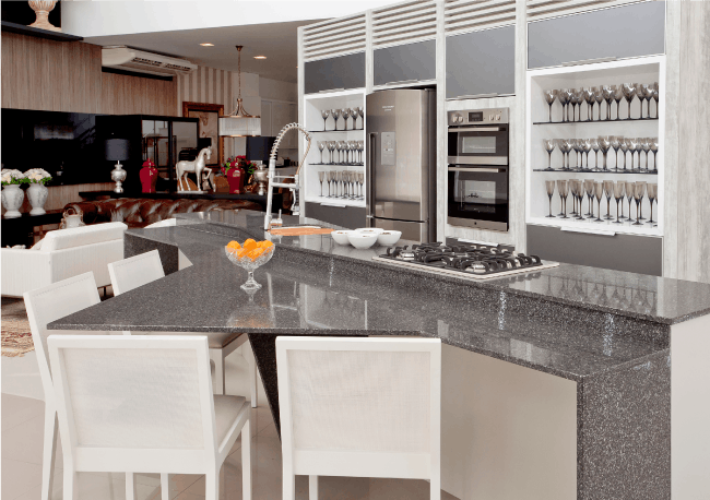 Silestone american kitchens for American style kitchen