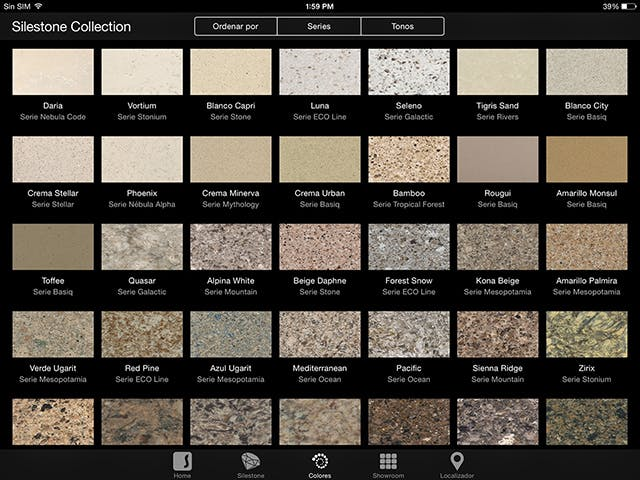 Silestone Mobile And Tablets Apps
