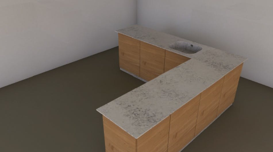 Personlig design kitchen 3D