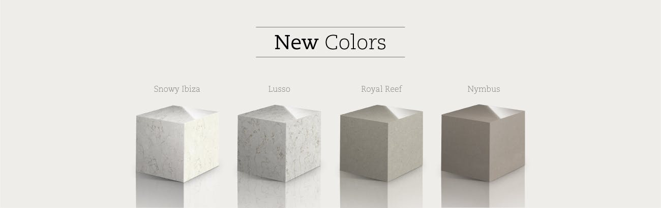 New Silestone Colors