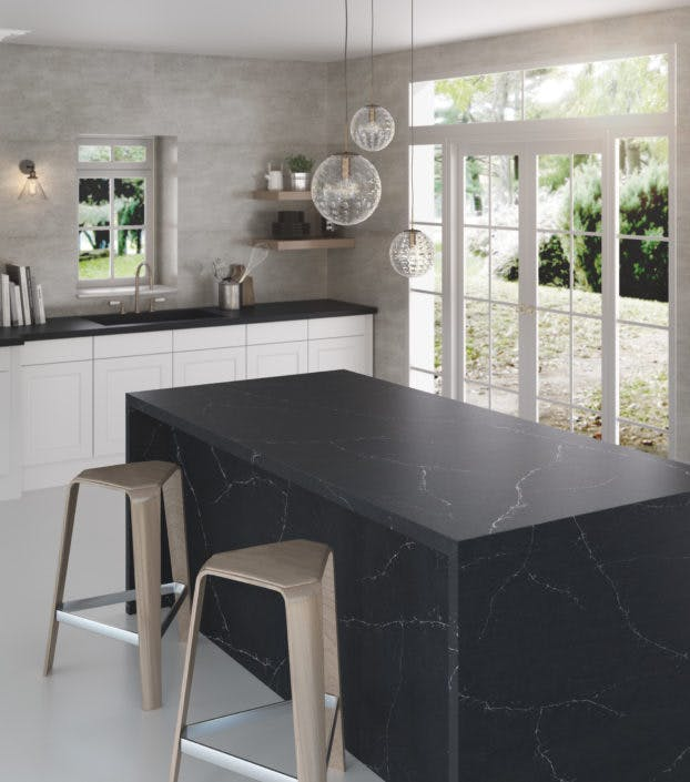 Silestone Kitchen - Eternal Charcoal Soapstone