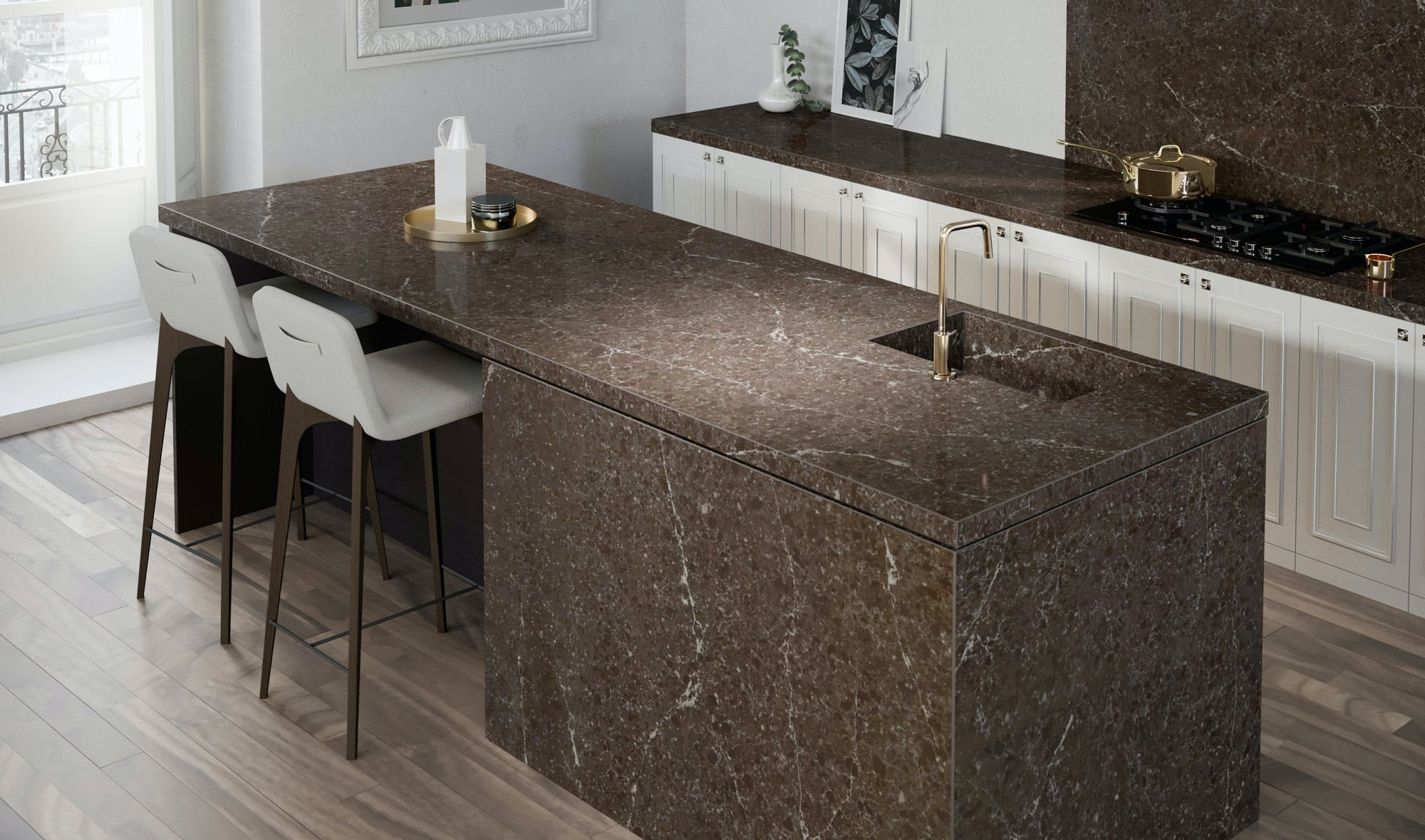 Silestone-Kitchen-Eternal-Emperador