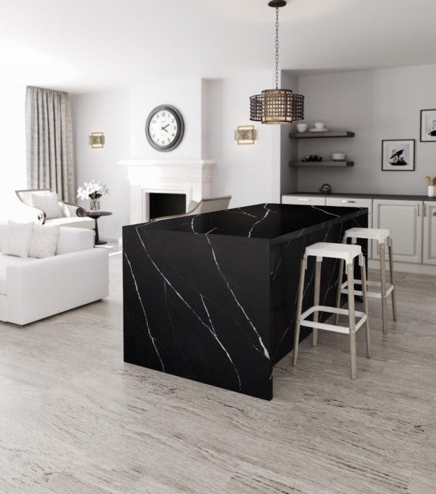 Silestone-Kitchen-Eternal-Marquina